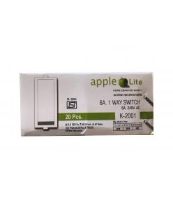 AppleLite K - 2001 6A 1 Way Switch